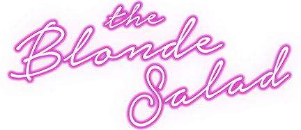 Logo the blonde salad